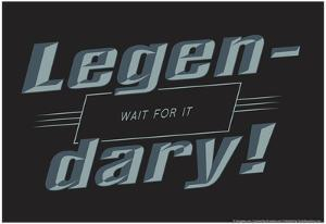 Legendary by Snorg Tees
