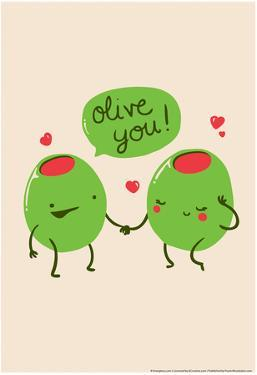 Olive You by Snorg Tees
