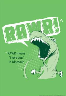 Rawr by Snorg Tees