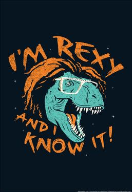Rexy And I Know It by Snorg Tees