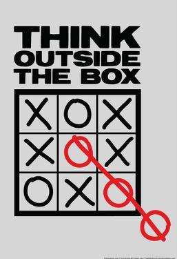 Think Outside The Box by Snorg Tees