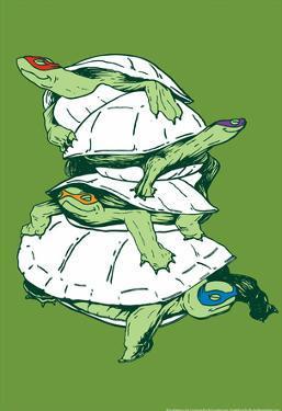 Turtles by Snorg Tees