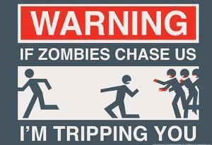 Zombie Chase by Snorg Tees
