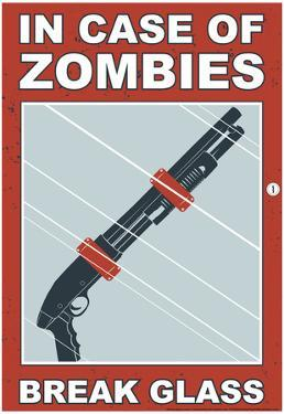 Zombies Break Glass by Snorg Tees