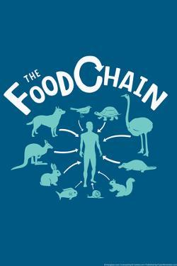 The Food Chain Snorg Tees Poster by Snorg