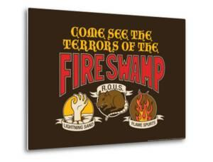 The Terrors of the Fire Swamp Snorg Tees Poster by Snorg