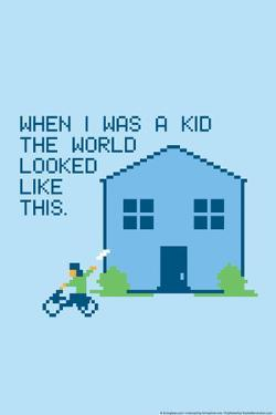 When I Was a Kid Snorg Tees Poster by Snorg