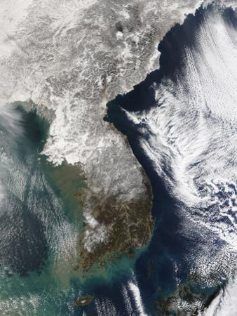 Snow in Korea