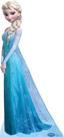 Snow Queen Elsa - Disney's Frozen Lifesize Standup