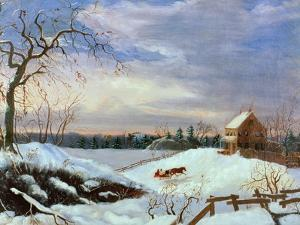 Snow Scene, New England