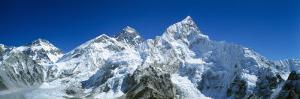 Snowcapped Mountains, Himalayas, Khumba Region, Nepal