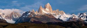 Snowcapped Mountains, Mt Fitzroy, Cerro Torre, Argentine Glaciers National Park, Patagonia