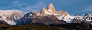 Snowcapped Mountains, Mt Fitzroy, Cerro Torre, Argentine Glaciers National Park, Patagonia