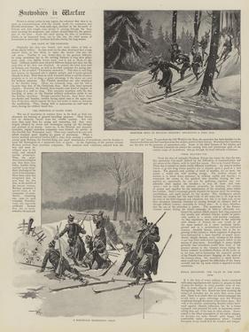Snowshoes in Warfare