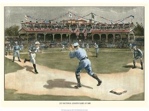 National League Game 1886 by Snyder