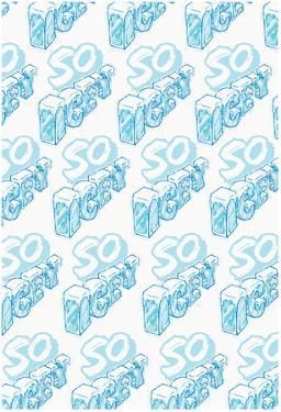 So Icey Cold Block Flat 3D Pattern