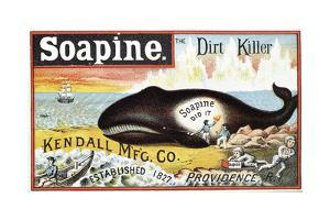 Soapine Household Cleaner, Late 19th Century