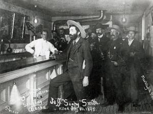 Soapy Smith's Saloon Bar at Skagway, Alaska, 1898