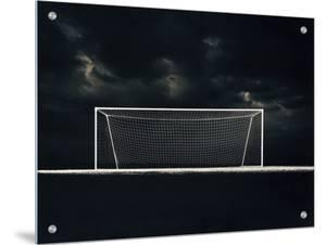 Soccer Net on a Stormy Night