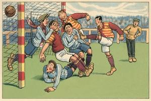Soccer Roughhousing