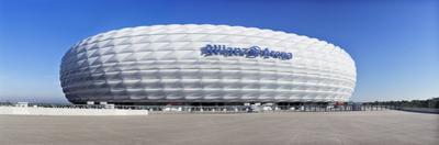Soccer Stadium, Allianz Arena, Munich, Bavaria, Germany