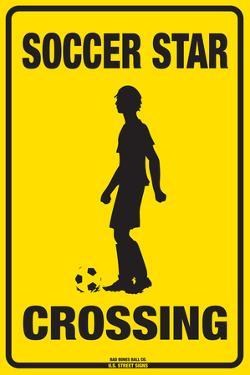 Soccer Star Crossing (Boy)