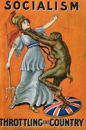 Socialism, Throttling the Country, C.1930