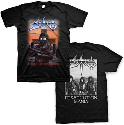 Sodom- Persecution Mania (Front/Back)