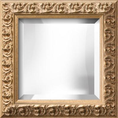 SOFIA Gold Wide Mirror