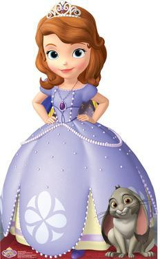 Sofia the First - Disney Princess Lifesize Cardboard Cutout