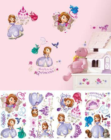 Sofia the First Peel and Stick Wall Decals