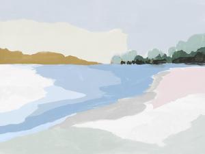 Soft Coastal I by Isabelle Z