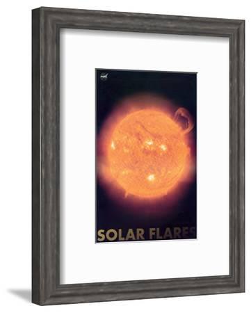 Solar Flares--Framed Art Print