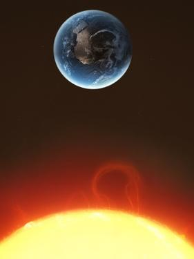 Solar Storm, Artwork
