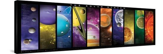 Solar System--Stretched Canvas