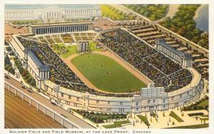 Soldier Field and Field Museum, Chicago, Illinois