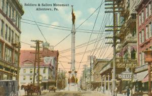 Soldiers and Sailors Monument, Allentown, Pennsylvania