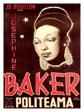 Josephine Baker by Soler