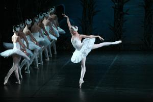 Soloists of the State Academic Leonid Yakobson Ballet Performing Swan Lake, 2008