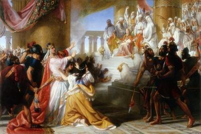Athaliah's Dismay at the Coronation of Joash, C.1858