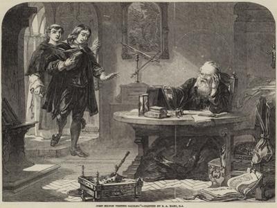 John Milton Visiting Galileo