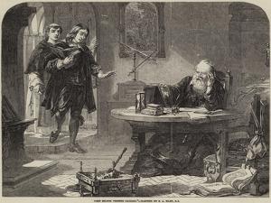 John Milton Visiting Galileo by Solomon Alexander Hart