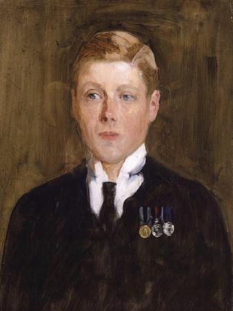 Portrait of Prince Edward, Duke of Windsor, King Edward VIII