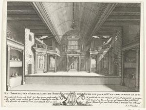 The Theatre of Jacob van Campen, 1658 by Solomon Savery