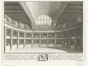 The Theatre of Jacob van Campen seen from the stage, 1658 by Solomon Savery