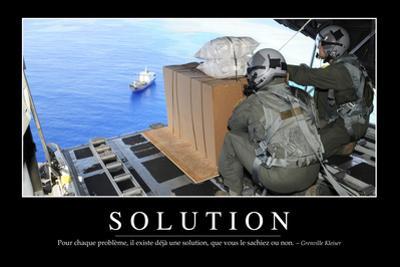 Solutions: Citation Et Affiche D'Inspiration Et Motivation