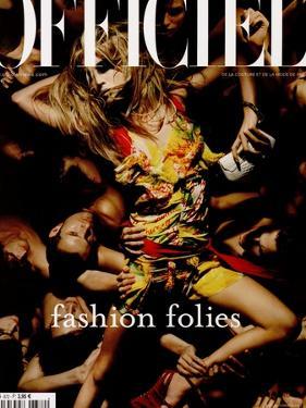 L'Officiel, 2003 - Raquel Zimmermann Porte une Robe en Mousseline de Soie, Christian Dior by Solve Sundsbo