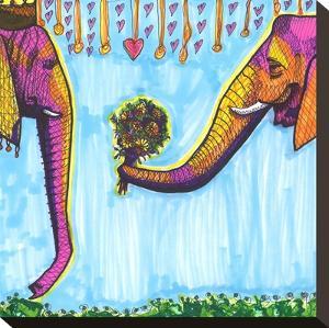 Elephants by Solveig Studio