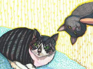 Two Cats by Solveig Studio