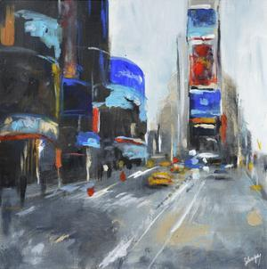 Times Square by Solveiga